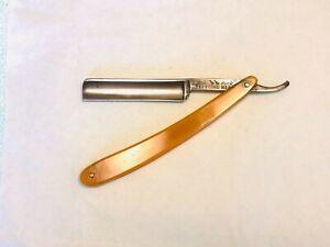 DUBL DUCK Rasoio a mano libera antico vintage straight razor rasoir navaja