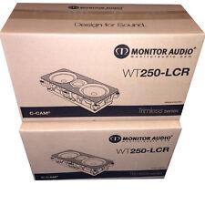 Monitor Audio WT-250-LCR WT 250 LCR In Wall Speaker (PAIR) Bran New