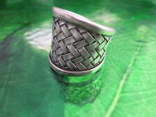 Silver 925 Rings Argento Anello Schmuck Basket Thailand Great Jewelry Handcraft