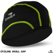 Cycling Skull Cap Bike Motorbike Under Helmet Hat Winter Thermal Windstopper All Black