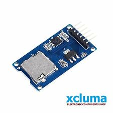 XCLUMA MICRO SD CARD MODULE TF CARD MEMORY SHIELD  SD STORAGE FOR ARDUINO BE0011