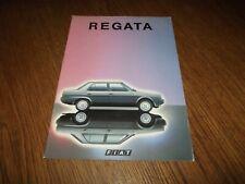 CATALOGUE FIAT REGATA 1984.