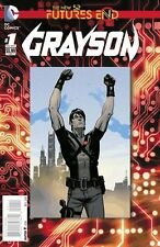 GRAYSON FUTURES END #1 3D MOTION COVER NEAR MINT FIRST PRINT BAGGED AND BOARDED