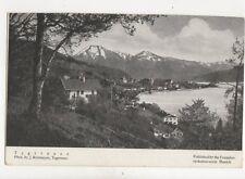 Tegernsee Vintage Postcard Germany 074b