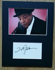 Tito Jackson 'The Jackson 5', hand signed mounted autograph.
