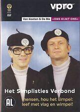 Koot & Bie-simplisties verbond   Nieuwe dvd  in seal