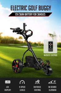 RETURNs New Remote Control Golf Trolley 3 Distance Foldable Electric Golf Buggy