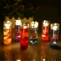 Scented Smokeless Candles Romantic Aromatherapy Jelly Wax Safe Luminessence Gift