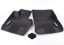 BMW Genuine E84 X1 Front All Weather Rubber Floor Mat Set, Mats XDrive Black NEW