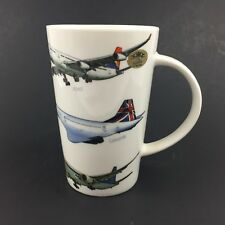 Commercial Aircraft Airline Jets Airplane Fine Bone China Coffee Mug Concorde ++