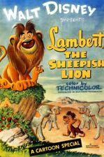 16mm LAMBERT THE SHEEPISH LION-used condition Walt Disney color cartoon short.