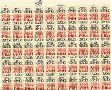 Scott #2053. . 20 Cent. Civil Service. Sheet of 50