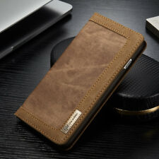 iPhone 5 5s SE Pouch Case Cover Jeans Brown Leather Synthetic