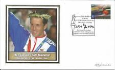 Greece  2004  Ben Ainslie  Olympics Gold Medal Sailing Men's Finn  Benham Cover