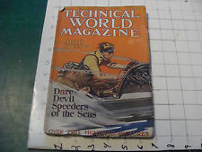 vintage magazine - Technical World April 1915 Tenant, New York Produce, desert