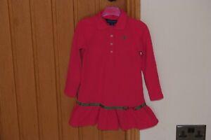Girls Designer RALPH LAUREN Dress - age 5/6yrs - Lovely condition