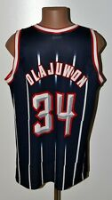NBA HOUSTON ROCKETS BASKETBALL SHIRT JERSEY #34 OLAJUWON CHAMPION SIZE XXL ADULT