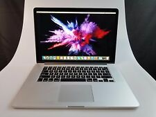 "Apple Macbook Pro Retina Laptop 15.4"" 2.7 GHz i7 - 3.7Ghz i7 16GB RAM 512GB SSD"