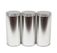 "6"" Tall Tea Tin with Airtight Lids - 3 Pack"