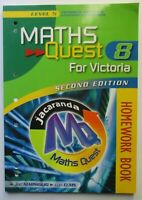 MATHS QUEST 8 for Victoria HOMEWORK BOOK Level 5   2rd Edition  2006