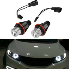 2xFor BMW E39 E60 E63 E64 X5 M6 6000K White LED Angel Eyes Halo Ring Light Bulb.
