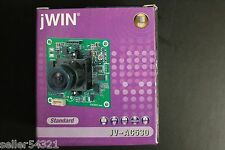 jWIN JV-AC530 Standard Super Mini Board B/W Camera PinHole Lens