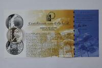BELGIUM 10 EURO 2003 SILVER PROOF SIMEON B18 CRW34