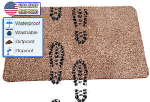 """Magic Super Absorbent Cleaning Fast Drying Step Mat Non Slip Door Rug 18"""" x 27"""""""