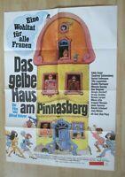 Filmplakat - Das gelbe Haus am Pinnasberg ( Judy Winter, Gernot Endemann )