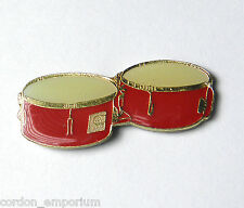 TIMBALES DRUM DRUMS MUSIC ROCK ROLL LAPEL PIN BADGE 1 INCH