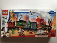 LEGO 7597 Toy Story WESTERN TRAIN CHASE Woody Buzz Jessie Hamm Mini Figures New