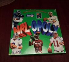 Vintage 1994 NFL-Opoly Team NFL Board Game 90s Monopoly Collectables COMPLETE