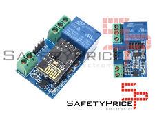 Rele con Modulo Wifi ESP8266 5V Remoto Domotica Arduino Raspberry Relay IOT SP