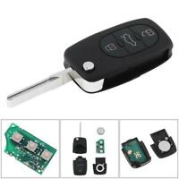 Audi A6 Estate Flip Remote Key Case With Key Cut to your car AUD01 Guaranteed