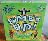 TIMES'S UP DELUXE BOARD GAME 10TH ANNIVERSARY EDITION COMPLETE VGC R&R GAMES
