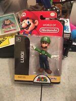 It's Luigi! World of Nintendo Figure by Jakks Pacific 2018 Super Mario Brothers