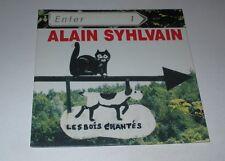 Alain Syhlvain - les bois chantés - cd album promo 16 titres pressage pour radio