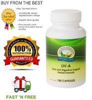 NATURE'S SUNSHINE LIV-A 100C LIVER & DIGESTIVE SUPPORT + FREE POST & SAMPLE