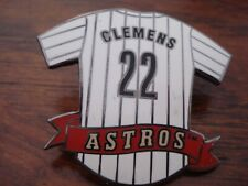 Astros #22 Roger Clemens Jersey Pin.