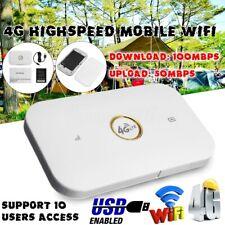 4G Mobile Pocket WIFI USB Broadband Modem Router Highspeed Support LTE UNLOCKED