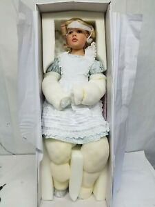 New Alice in Wonderland, 2018 Resin Doll by Hildegard Gunzel Free Shipping
