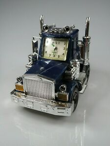 Contact American big rig semi truck alarm clock with lights and sound working