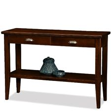 Leick Furniture 10533 Laurent 2-Drawer Hall Console Table