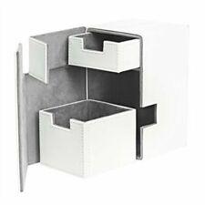 Flip N Tray Deck Case 100 Standard Size XenoSkin - White Ultimate Guard