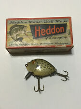 VINTAGE HEDDON 9630 CRA PUNKINSEED FISHING LURE In Correct Box Lot H2