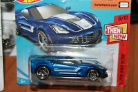 CHEVROLET - CORVETTE C 7-Z 06 - HOT WHEELS - SCALA 1/55