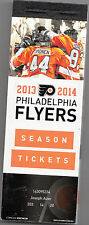 2013-14 PHILADELPHIA FLYERS SEASON TICKET BOOK UNUSED 44 TICKETS GIROUX VORACEK