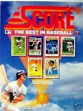 1991 DON MATTINGLY New York Yankees Score Oddball Baseball Cards Promo Sports AD