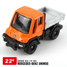 TAKARA TOMICA #22-6 DIECAST MERCEDES BENZ UNIMOG U400 (orange) 395652