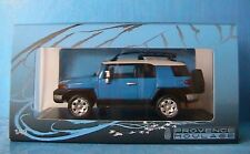 TOYOTA FJ CRUISER 2006 VOODOO BLUE PROVENCE MOULAGE NOREV 1/43 PM0006